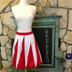 Anthropologie Floreat Pulsations Skirt